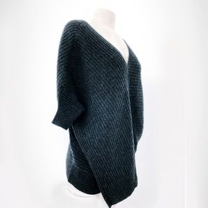 Vince Charcoal Ribbed Sweater